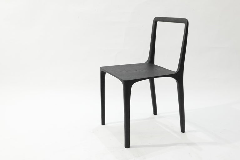 Dot Chair, Hand-Sculpted and Signed by Cedric Breisacher For Sale 3