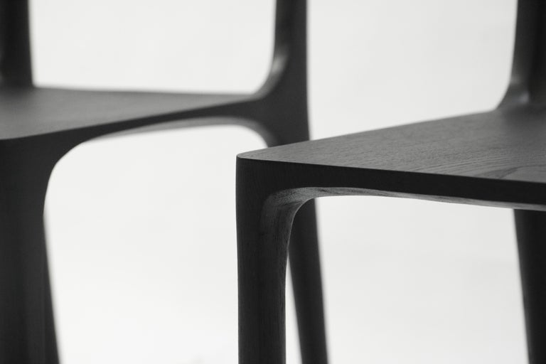 Dot Chair, Hand-Sculpted and Signed by Cedric Breisacher For Sale 4