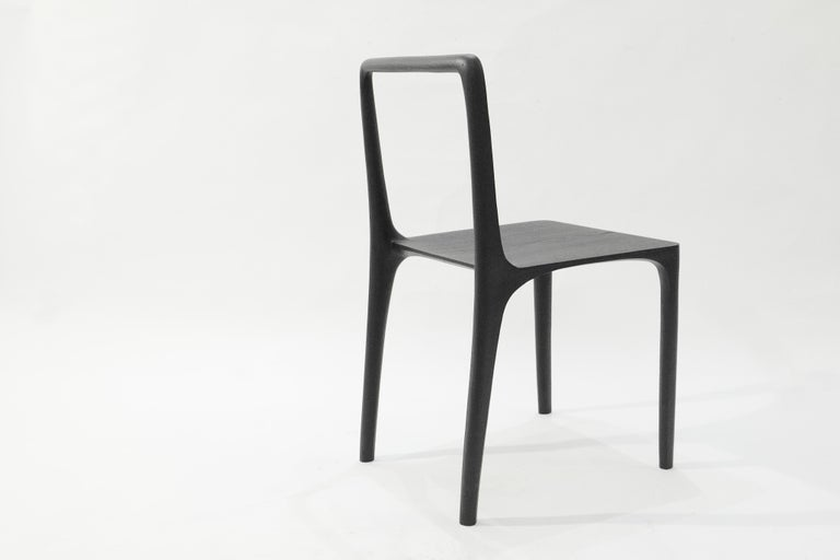 Dot Chair, Hand-Sculpted and Signed by Cedric Breisacher For Sale 5