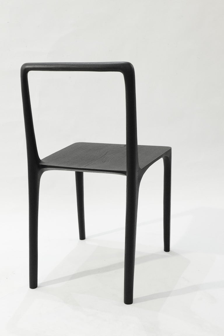 Dot Chair, Hand-Sculpted and Signed by Cedric Breisacher For Sale 6