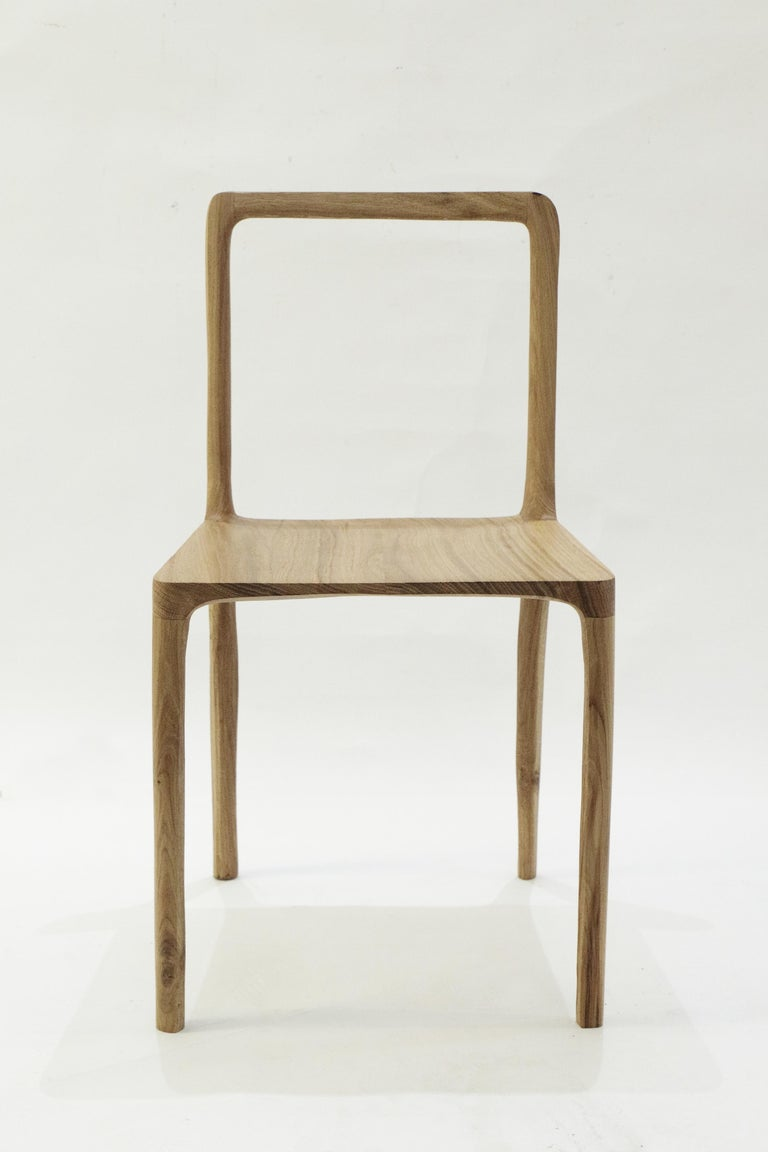 Dot Chair, Hand-Sculpted and Signed by Cedric Breisacher For Sale 10