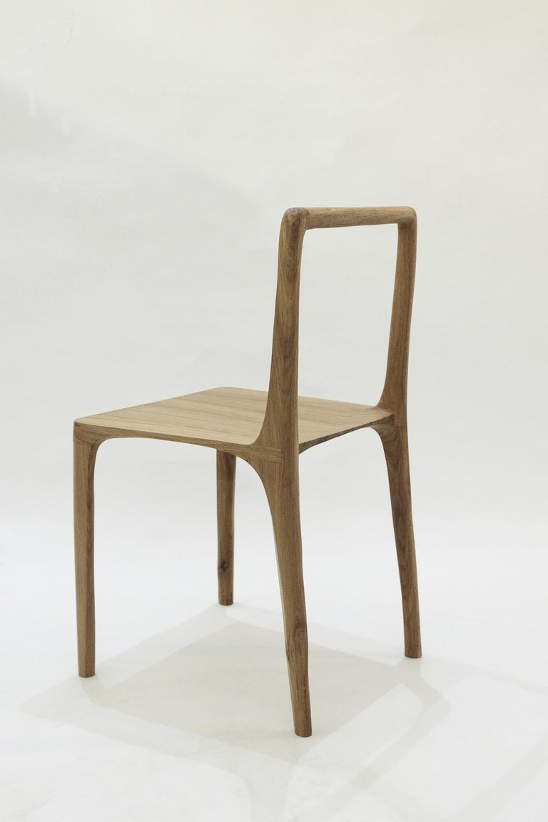 Dot Chair, Hand-Sculpted and Signed by Cedric Breisacher For Sale 11