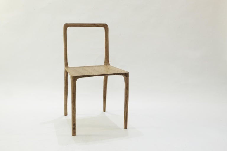 Modern Dot Chair, Hand-Sculpted and Signed by Cedric Breisacher For Sale