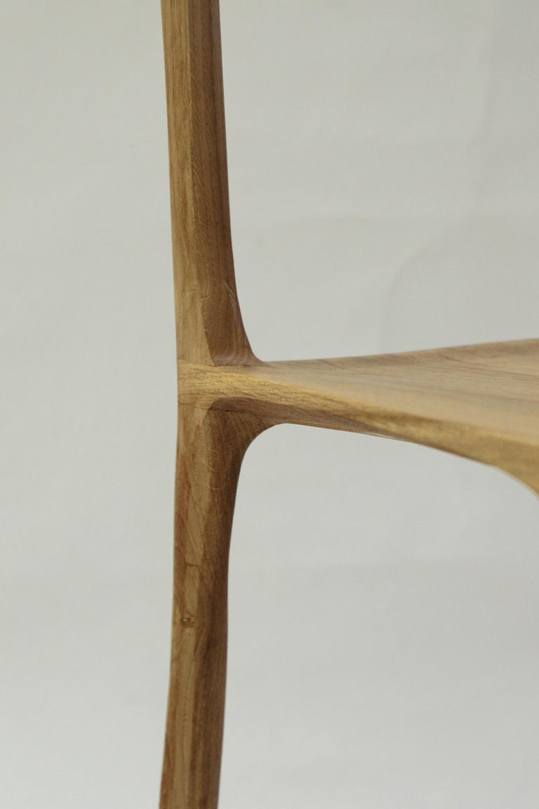 French Dot Chair, Hand-Sculpted and Signed by Cedric Breisacher For Sale