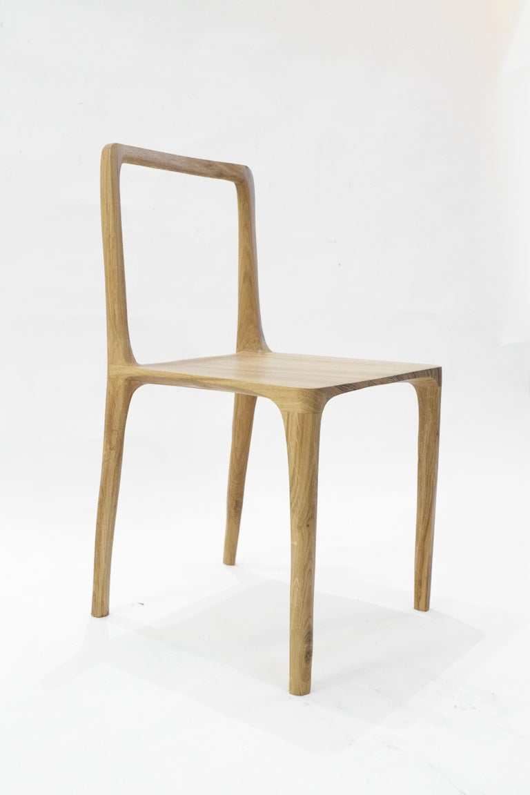 Dot Chair, Hand-Sculpted and Signed by Cedric Breisacher In New Condition For Sale In Geneve, CH