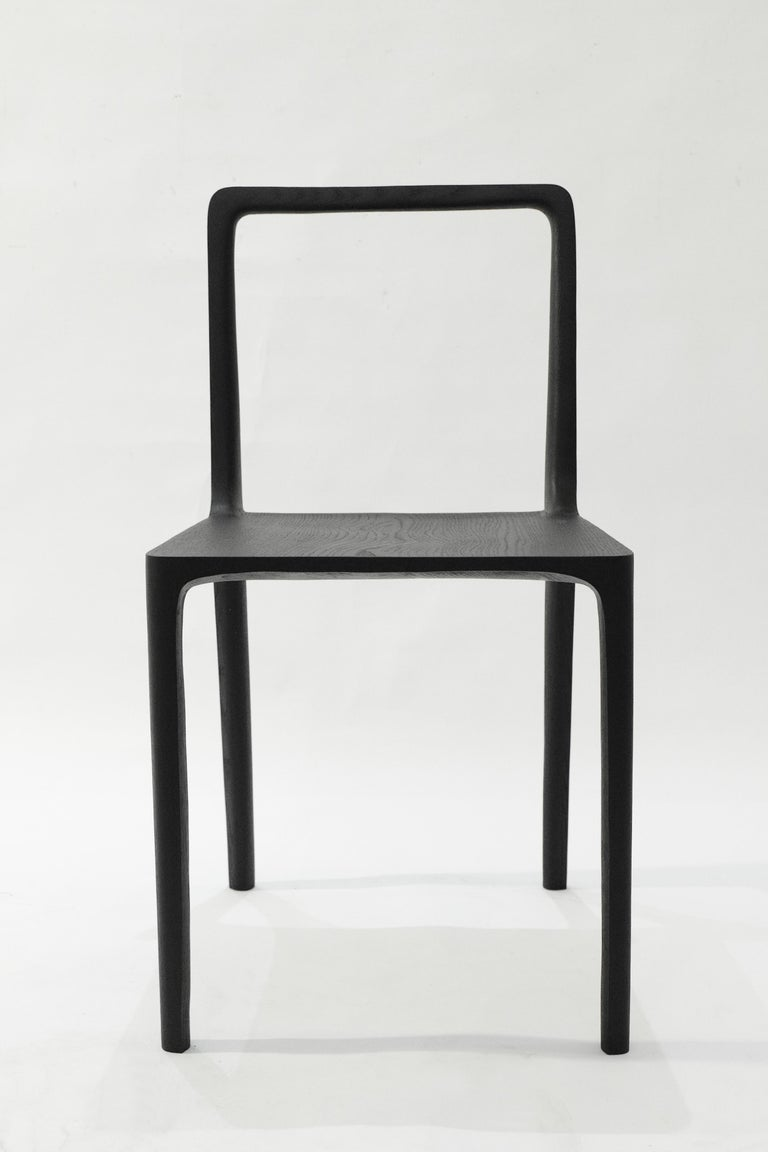 Dot Chair, Hand-Sculpted and Signed by Cedric Breisacher For Sale 1