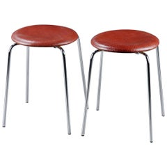 Dot Stools by Arne Jacobsen for Fritz Hansen
