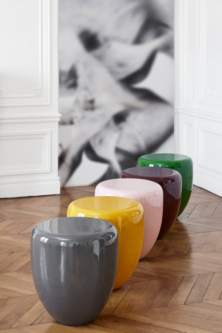 Dot, Side Table or Stool, Bohemian Blue, by Reda Amalou Design, 21st Century In New Condition For Sale In Paris, FR