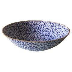 Dots Ceramic Bowl by Lana Kova, Various Glazes Available