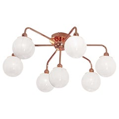 Dots Copper Ceiling Lamp by Matteo Zorzenoni