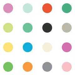 Dots Multicolor on Smooth Paper