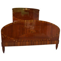 Art Deco Secesja Bed from 1900-1910