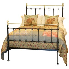Double Black Antique Bed, MD63