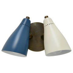 Double Cone Articulating Sconces