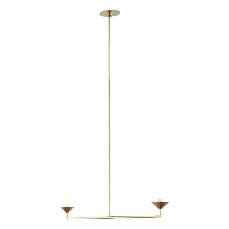 Volker Haug double drop pendant, new, offered by Galerie Philia Furniture