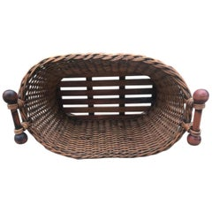 Double Handled Laundry Basket with Handles
