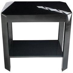 Double Level Side Tables in with Eggshell