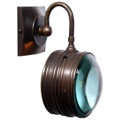 Double Magnifying Glass Sconce