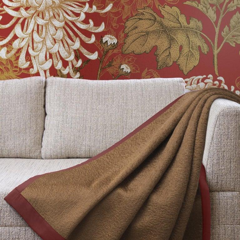 Italian Double Mohair Blanket For Sale