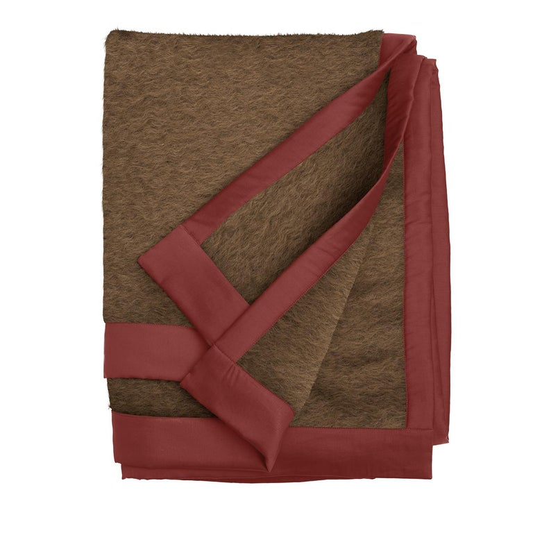 Double Mohair Blanket In New Condition For Sale In Milan, IT