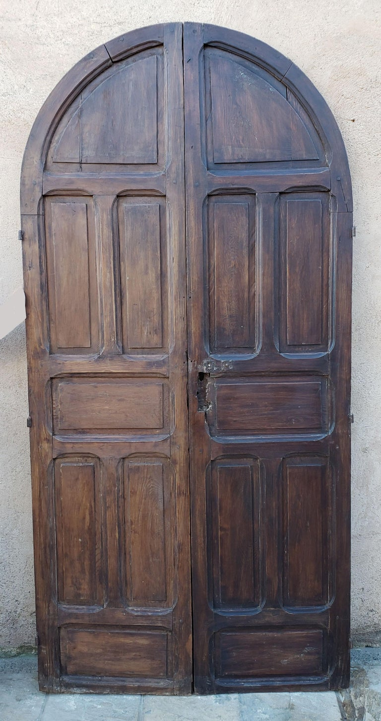 Another amazing double panel Moroccan door measuring approximately 88