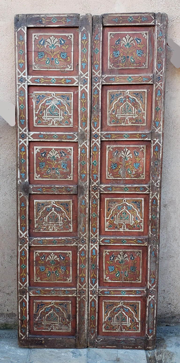 Another amazing double panel Moroccan door measuring approximately 72.5