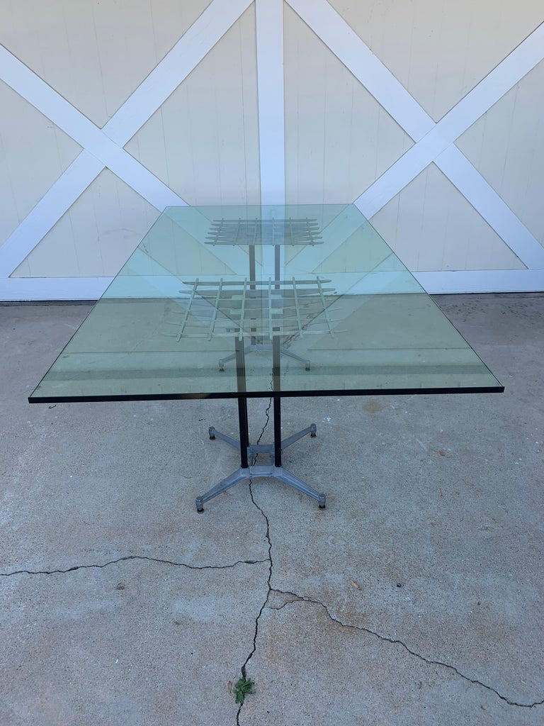 Late 20th Century Double Pedestal Dining Table by Robert Josten For Sale