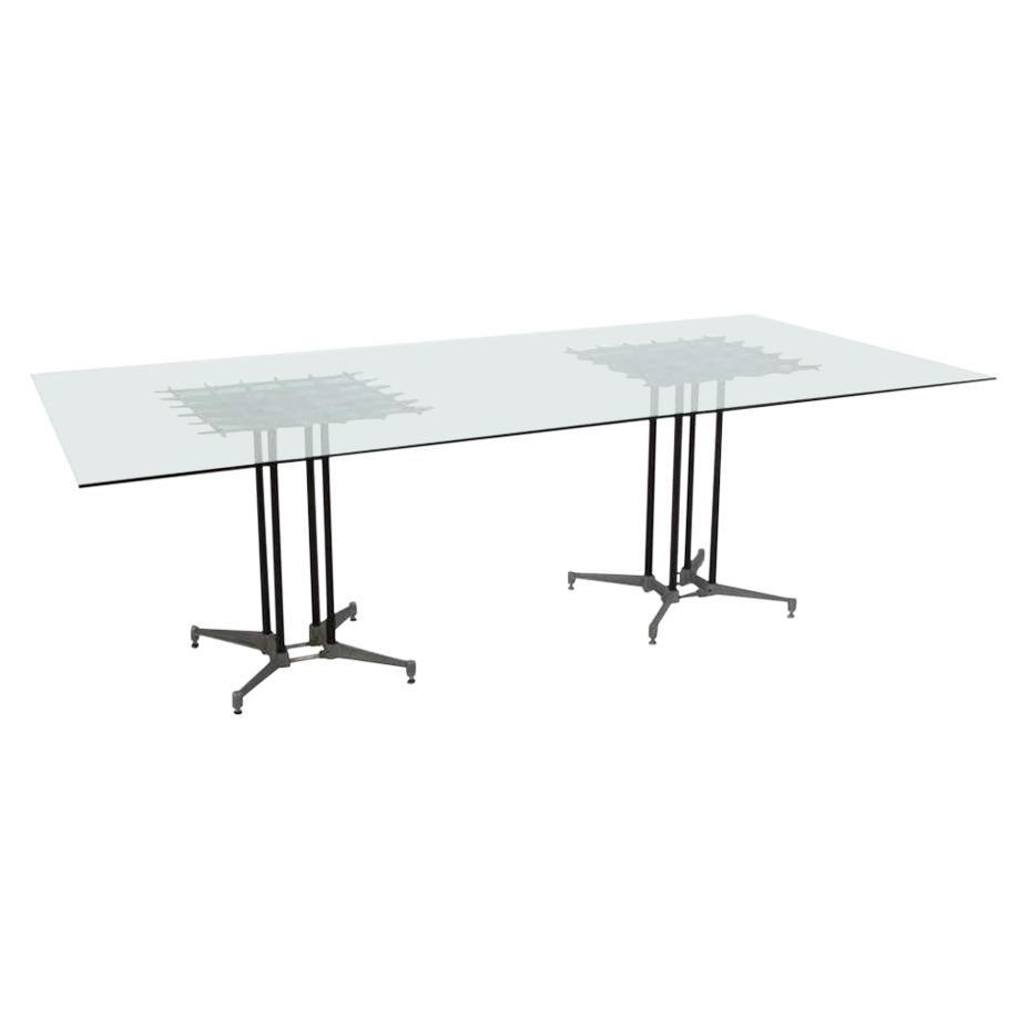 Double Pedestal Dining Table by Robert Josten