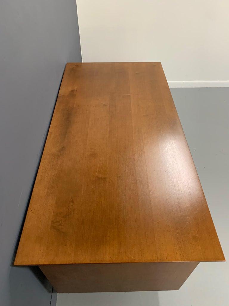 20th Century Double Pedestal Planner Group Desk by Paul McCobb
