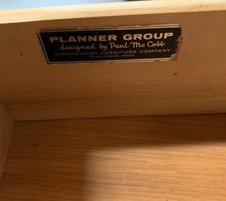 Double Pedestal Planner Group Desk by Paul McCobb 1