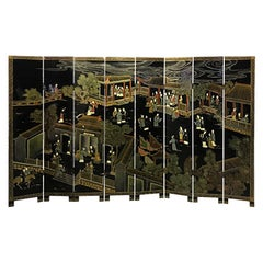 Double Sided Eight-Panel Chinese Screen