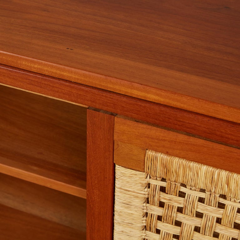 Double Sided Rattan Credenza by Michael van Beuren for Domus Mexico 3