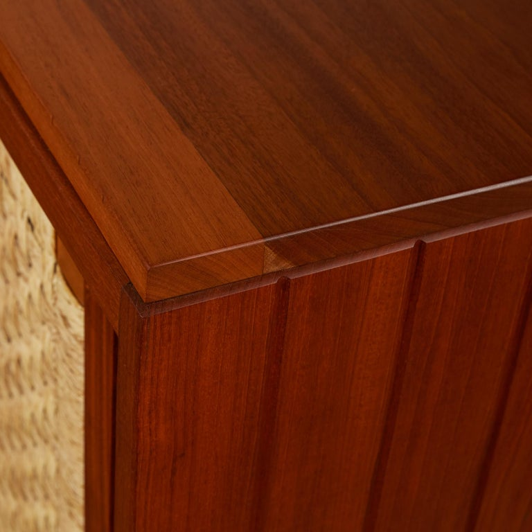 Double Sided Rattan Credenza by Michael van Beuren for Domus Mexico 4