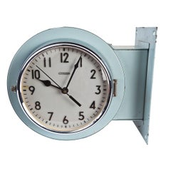 Double-Sided Ship's Nautical Hallway Clock by Citizen