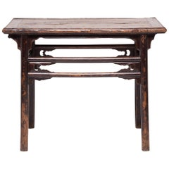 Chinese Double Stretcher Console Table, c. 1850