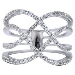 Double Wave Crossover Ring