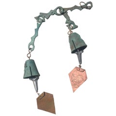 Double Wind Bell in the Style of Paolo Soleri