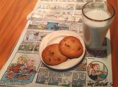 Cookies and Milk Licensed Giclee #9/180