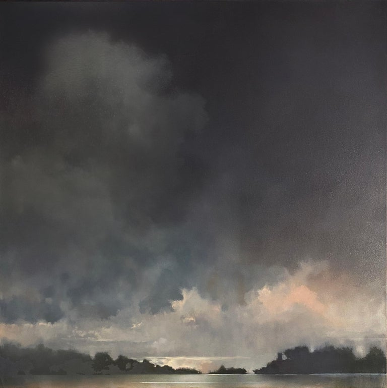 As if the Fates Had Conspired Against Her Doug Foltz, Contemporary Landscape - Painting by Doug Foltz