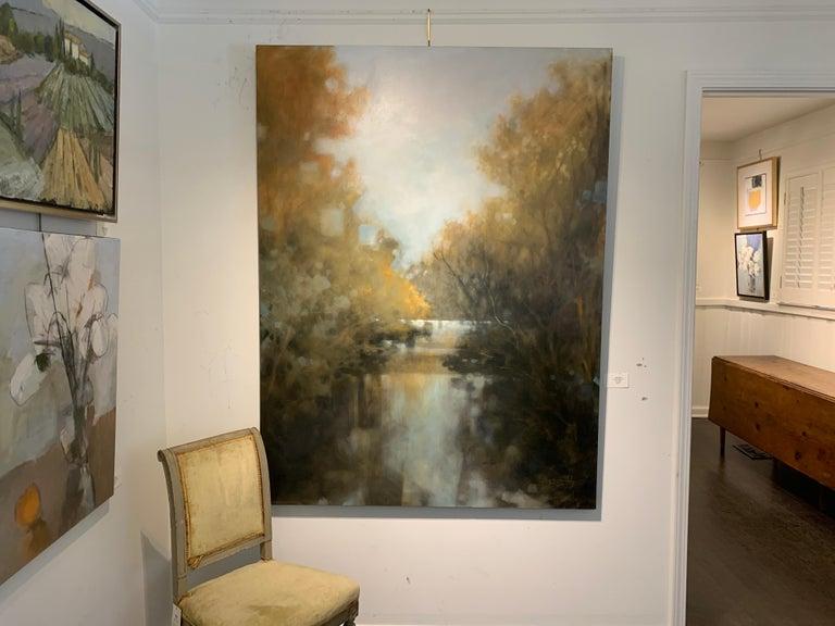 As is You Never Left by Doug Foltz, Large Vertical Contemporary Landscape 2
