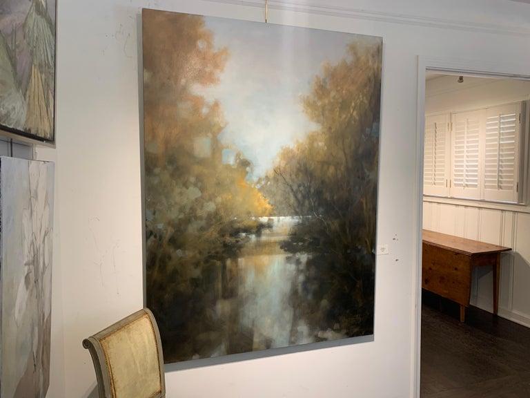 As is You Never Left by Doug Foltz, Large Vertical Contemporary Landscape 4