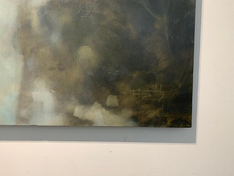 As is You Never Left by Doug Foltz, Large Vertical Contemporary Landscape 5
