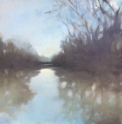 Baker Run-Southern Waterway Series #2 by Doug Foltz, Large Landscape Painting