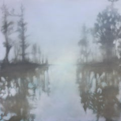Breakthrough - Southern Waterway Series #3 by Doug Foltz, Large Oil Painting