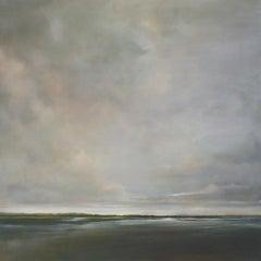 Second Sailor's Delight by Doug Foltz, Large Framed Landscape Oil Painting