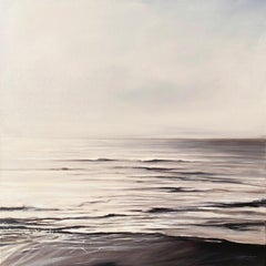 Still Too by Doug Foltz, Large Square Contemporary Seascape