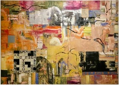 """""""Crossland Puzzle""""  Abstract Oil Painting"""