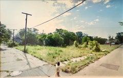 Large Scale Photograph Archival Pigment Print, Detroit Color Photo Doug Rickard
