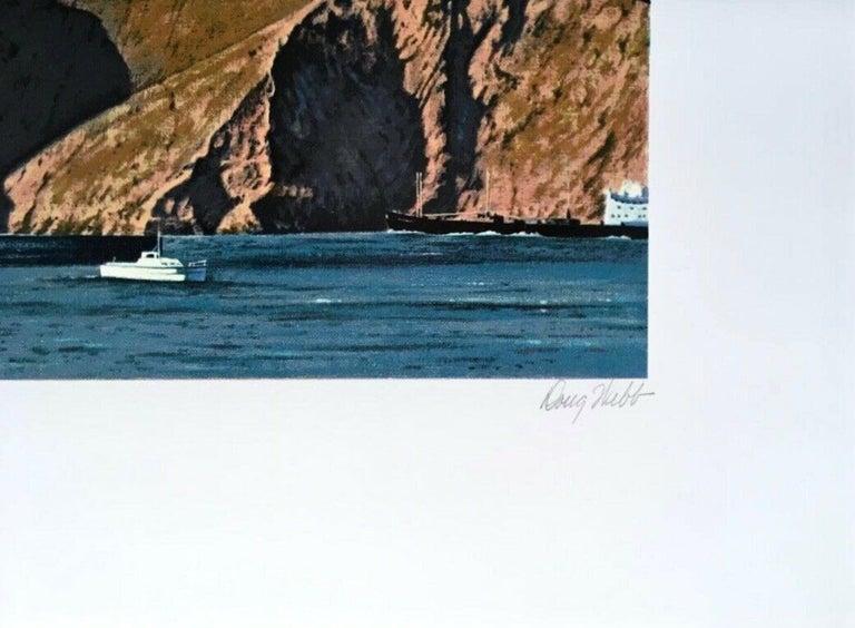 Wash & Wear - Blue Landscape Print by Doug Webb