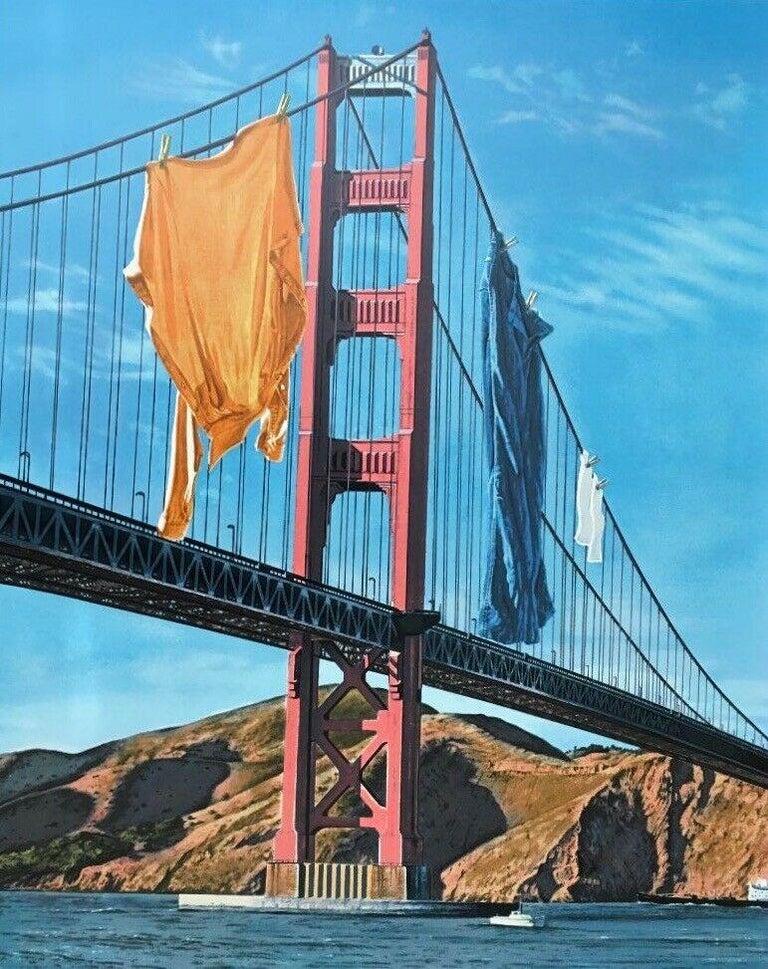 Doug Webb Landscape Print - Wash & Wear